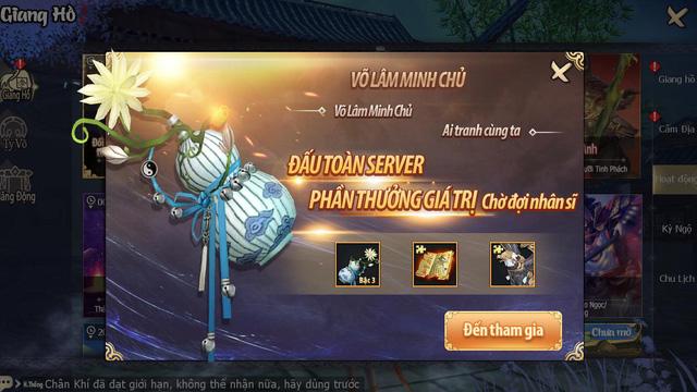 Cửu Âm 3D VNG chính thức ra mắt game thủ Việt cùng nhiều ưu đãi hấp dẫn - Ảnh 8.