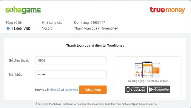 Thẻ game giá rẻ, giảm giá đặc biệt 50% SohaCoin tại TrueMoney - Ảnh 2.
