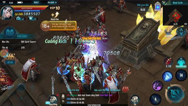 MU Strongest Các mutizen đang tham chiến trong MU Strongest hợp sức cùng nhau Img20181005104057663