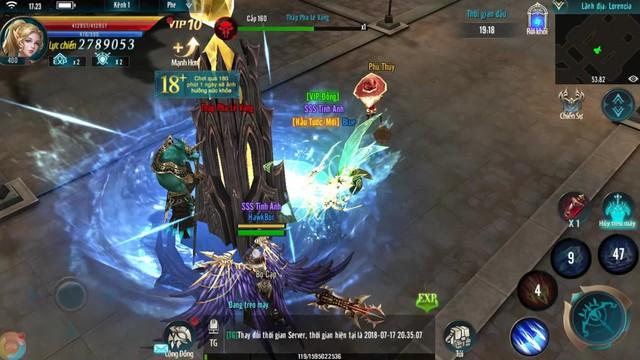 MU Strongest Các mutizen đang tham chiến trong MU Strongest hợp sức cùng nhau Img20181005104059264