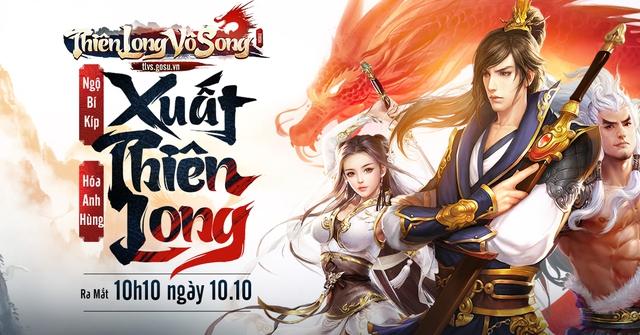 Thiên Long Vô Song – bản mobile tuyệt đỉnh của Thiên Long Bát Bộ chính thức ra mắt - Ảnh 1.