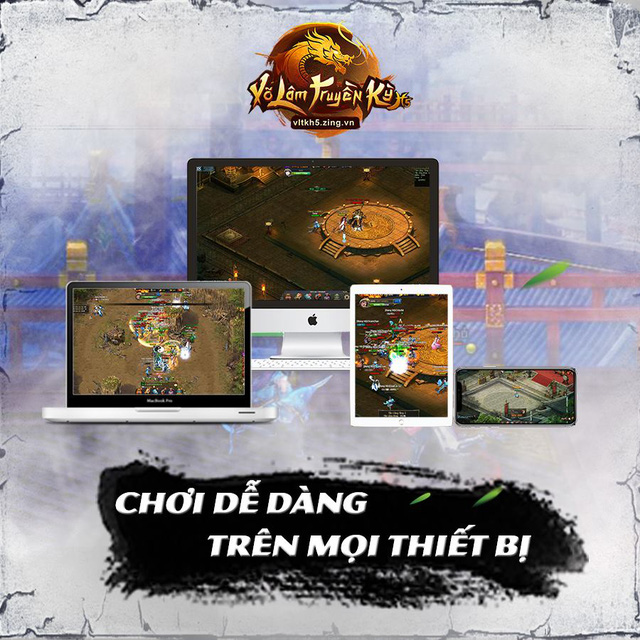 Võ Lâm Truyền Kỳ H5 chính thức ra mắt game thủ vào hôm nay