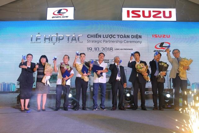Isuzu Việt Nam hợp tác chiến lược toàn diện cùng Quyền Auto - Ảnh 3.