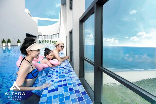 Altara Suites - Khách sạn có góc view triệu đô ven biển Mỹ Khê - Ảnh 3.