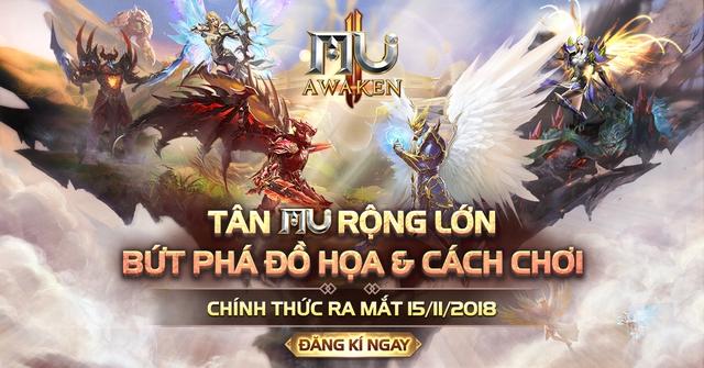 MU Awaken - VNG game mobile nhập vai MMORPG thần thoại Châu Âu số 1 Châu Á Img20181115090903681