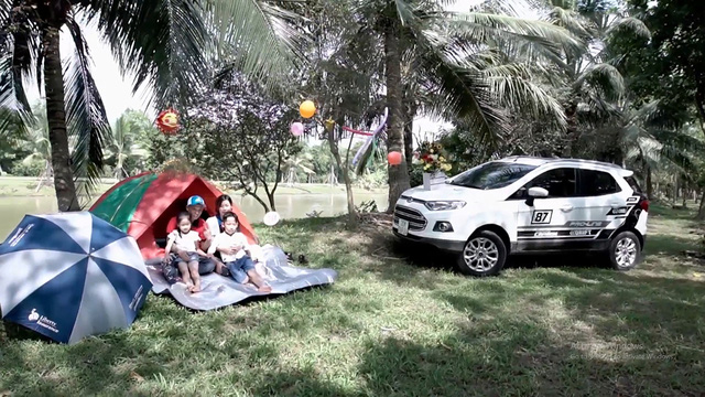 Ford EcoSport - chiếc mini SUV kết nối các gia đình Việt - Ảnh 1.