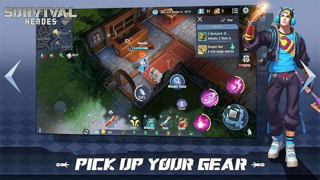 Survival Heroes – Game MOBA kết hợp Liên Quân và PUBG sẽ được phát hành tại Việt Nam? - ảnh 4