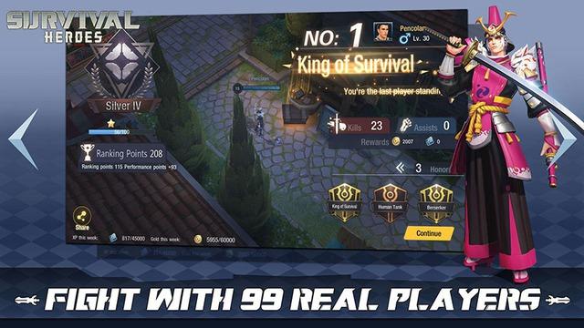 Survival Heroes – Game MOBA kết hợp Liên Quân và PUBG sẽ được phát hành tại Việt Nam? - ảnh 5