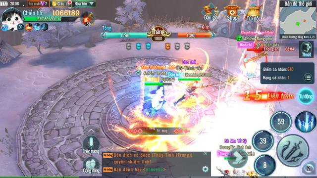 Nhất Kiếm Giang Hồ Mobile: PK cực mạnh, đưa các chiến trường trong game lên tầm huyền thoại - Ảnh 2.