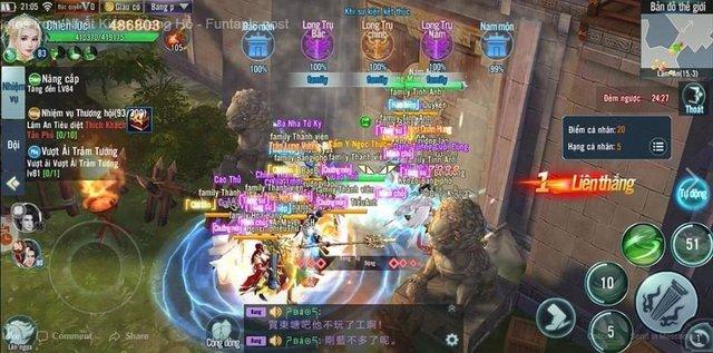 Nhất Kiếm Giang Hồ Mobile: PK cực mạnh, đưa các chiến trường trong game lên tầm huyền thoại - Ảnh 3.