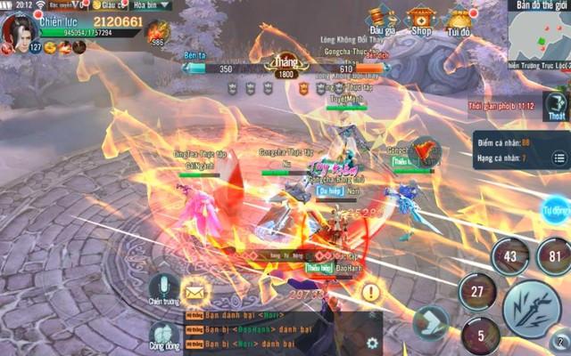 Nhất Kiếm Giang Hồ Mobile: PK cực mạnh, đưa các chiến trường trong game lên tầm huyền thoại - Ảnh 4.