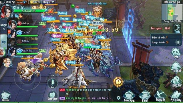 Nhất Kiếm Giang Hồ Mobile: PK cực mạnh, đưa các chiến trường trong game lên tầm huyền thoại - Ảnh 6.