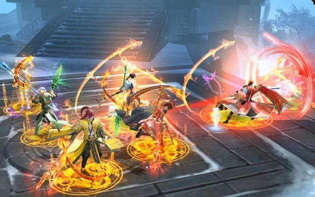 Nhất Kiếm Giang Hồ Mobile: PK cực mạnh, đưa các chiến trường trong game lên tầm huyền thoại - Ảnh 8.