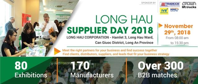 Sắp diễn ra Ngày hội tìm kiếm nhà cung cấp Khu công nghiệp Long Hậu lần thứ 2 - 2018 - Ảnh 2.