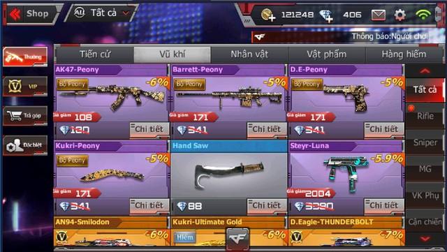CFL: Sở hữu vô vàn GEM và các vũ khí VIP với giá cực ưu đãi chỉ duy nhất vào ngày Black Friday 23/11 - Ảnh 7.