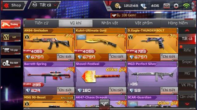 CFL: Sở hữu vô vàn GEM và các vũ khí VIP với giá cực ưu đãi chỉ duy nhất vào ngày Black Friday 23/11 - Ảnh 8.