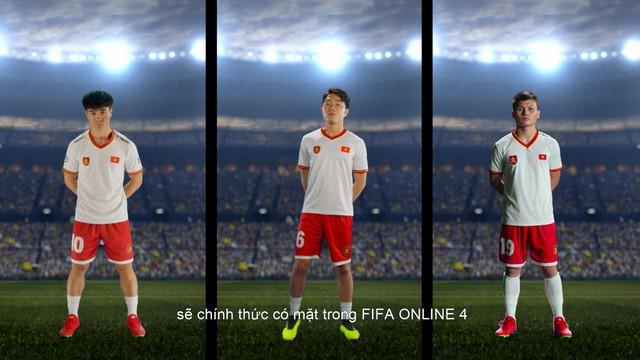 Bộ ba Quang Hải - Xuân Trường - Công Phượng chính thức có mặt trong FIFA Online 4 Việt Nam - Ảnh 1.