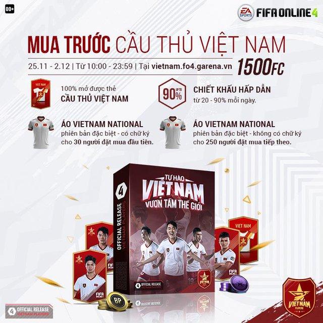 Bộ ba Quang Hải - Xuân Trường - Công Phượng chính thức có mặt trong FIFA Online 4 Việt Nam - Ảnh 7.