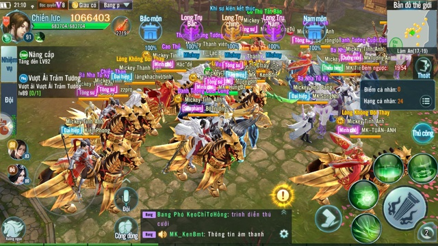 Thành Lâm An khói lửa ngập trời bởi những trận Công Thành Chiến đầy quy mô trong Nhất Kiếm Giang Hồ Mobile - Ảnh 4.