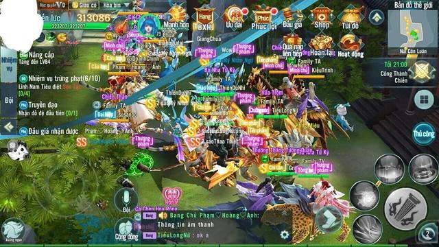 Thành Lâm An khói lửa ngập trời bởi những trận Công Thành Chiến đầy quy mô trong Nhất Kiếm Giang Hồ Mobile - Ảnh 6.