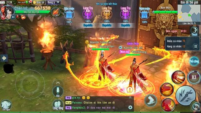 Thành Lâm An khói lửa ngập trời bởi những trận Công Thành Chiến đầy quy mô trong Nhất Kiếm Giang Hồ Mobile - Ảnh 11.