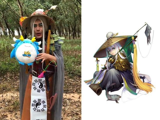 Khi Quang Trung, Lê Dương Bảo Lâm, Gino Tống trổ tài cosplay tự chế - ảnh 2