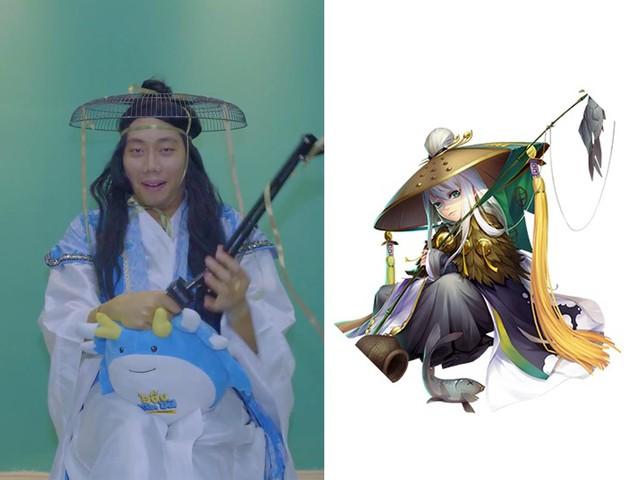 Khi Quang Trung, Lê Dương Bảo Lâm, Gino Tống trổ tài cosplay tự chế - ảnh 3