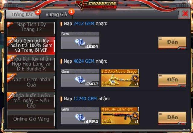 CrossFire Legends: Mùa Rank tháng 12 chính thức khởi tranh cùng hàng loạt sự kiện hot - Ảnh 5.