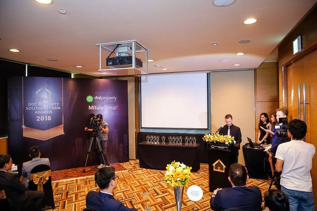 Việt Nam dẫn đầu tại giải thưởng Dot Property Southeast Asia 2018 - Ảnh 1.