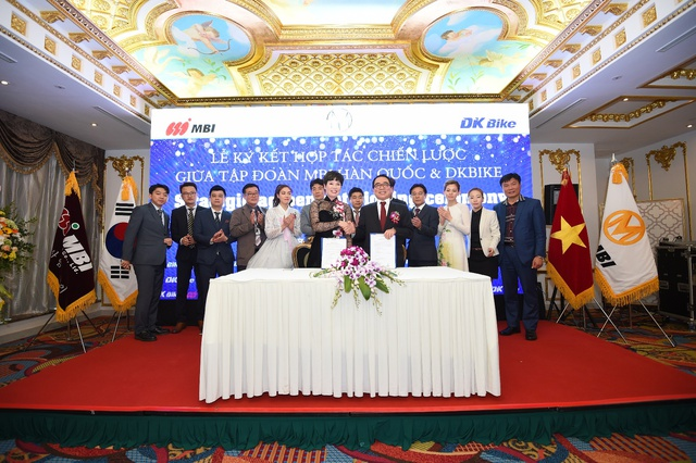 Tập đoàn MBI Hàn Quốc bắt tay DKBike triển khai dự án xe máy điện tỷ đô - Ảnh 1.