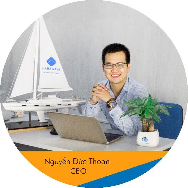 CEO Thuyền Lucky (Hahawave) - Nguyễn Đức Thoan: Bỏ thu nhập ngàn đô để thành thằng bán thuyền - Ảnh 1.