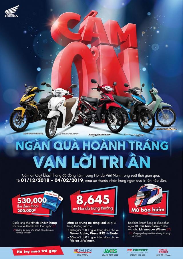 5 lý do giúp Honda giữ vững ngôi vương xe máy tại Việt Nam - Ảnh 3.