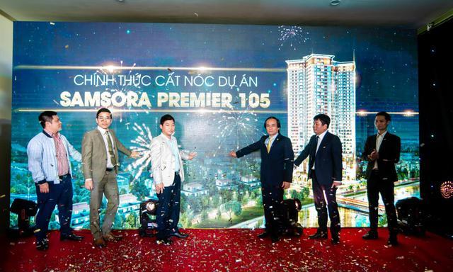 Khách hàng chen chân tới tham dự Lễ cất nóc Samsora Premier 105 - Ảnh 1.