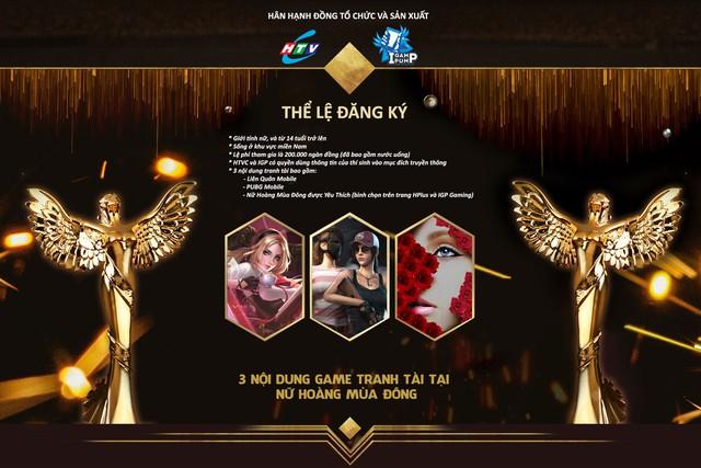 """Giải đấu game online Nữ Hoàng Mùa Đông"""" với giá trị giải thưởng lên đến 100 triệu đồng - Ảnh 1."""