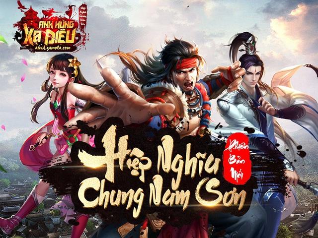 Anh Hùng Xạ Điêu tung Update khủng dành tặng game thủ ăn tết - Ảnh 1.