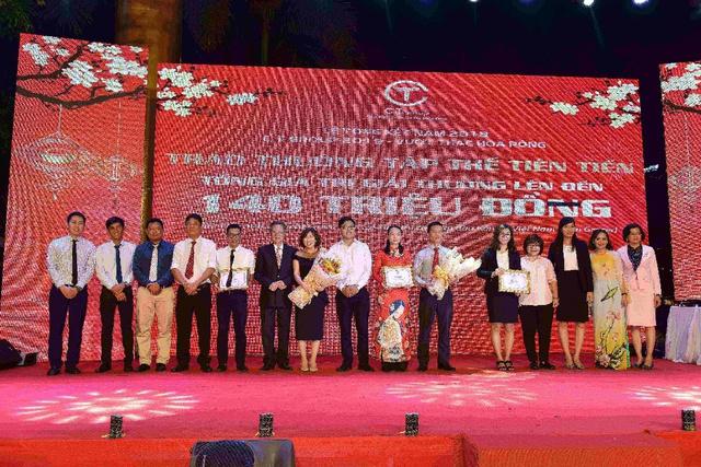 C.T Group thưởng Tết đến 6 tháng lương bổng và nhiều quà tặng giá trị cho CBNV - Ảnh 1.