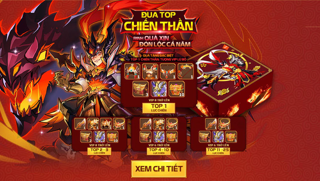 OMG 3Q ra mắt máy chủ Tết cho game thủ Khai Xuân Đắc Lộc