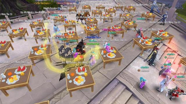 """Tán tỉnh chưa """"phê"""", game thủ Kiếm Thế Mobile đãi tiệc cưới cả trăm mâm - Ảnh 5."""