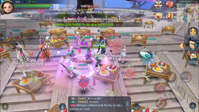 """Tán tỉnh chưa """"phê"""", game thủ Kiếm Thế Mobile đãi tiệc cưới cả trăm mâm - Ảnh 6."""