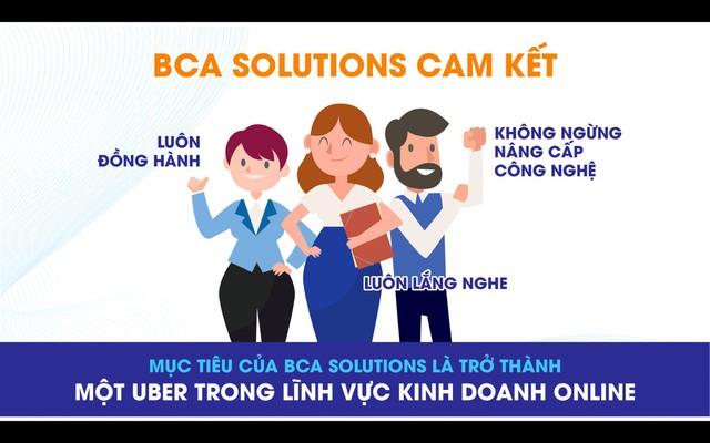 """BCA Solutions - Tham vọng của start up việt trở thành """"Uber trong lĩnh vực kinh doanh online"""" - Ảnh 1."""