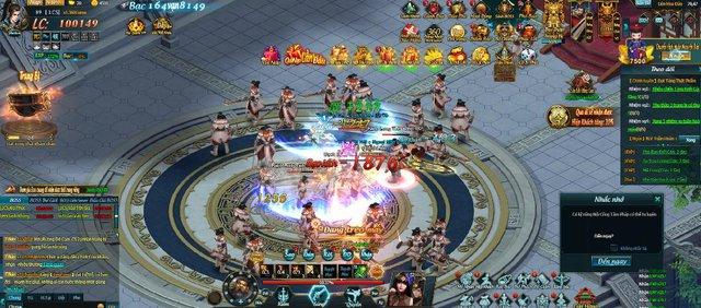 """Game thủ """"rần rần"""" tham gia Webgame Thiên Địa Hội trên cổng 360Game"""