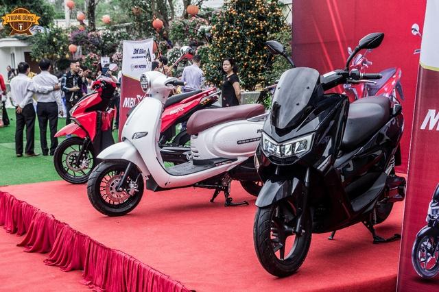 Xe máy điện MBI đã có giá, rẻ nhất từ 39,8 triệu - Ảnh 4.