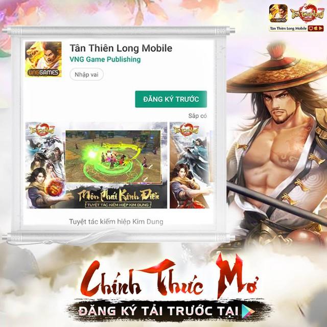 Mở đăng ký tải trước 1 tuần, Tân Thiên Long Mobile sắp khuấy đảo làng game Việt trong ngày 13/3/2019 - Ảnh 1.