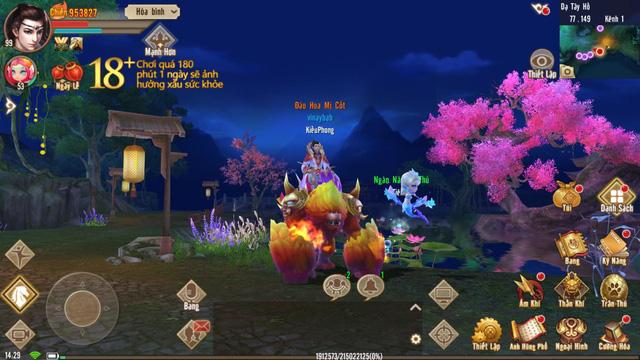 Trải nghiệm Tân Thiên Long Mobile ngày đầu ra mắt: đồ họa 3D đẹp mãn nhãn - Ảnh 2.