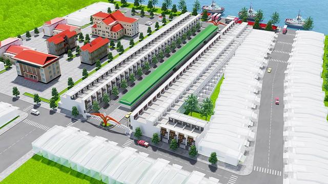Tắc Cậu Riverside - Khởi công dự án shophouse tại Châu Thành, Kiên Giang - Ảnh 1.