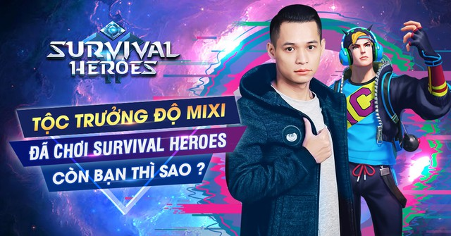 """Độ Mixi ra tay, Survival Heroes ngay lập tức leo Top """"ầm ầm"""" trên App Store và Google Play - Ảnh 5."""