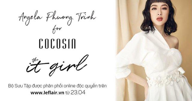 Angela Phương Trinh x Cocosin X Leflair - Show thời trang đầu tiên ở Việt Nam cho khách hàng mua trực tiếp trên livestream - Ảnh 1.