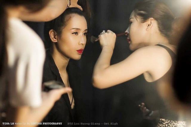 Tina Lê – Chuyên gia phù thủy make up cho nhiều sao Việt - Ảnh 4.