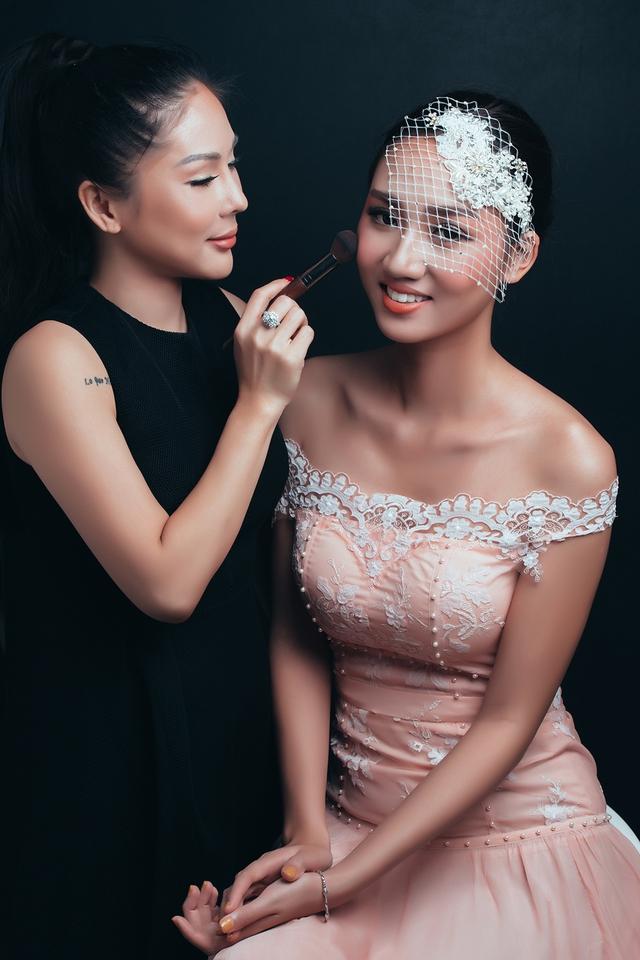 Tina Lê – Chuyên gia phù thủy make up cho nhiều sao Việt - Ảnh 5.