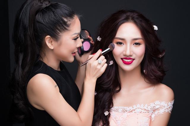 Tina Lê – Chuyên gia phù thủy make up cho nhiều sao Việt - Ảnh 6.